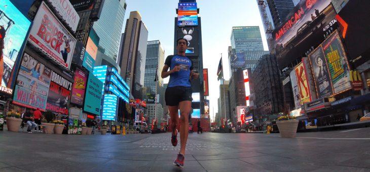 13k pelo Central Park e Times Square