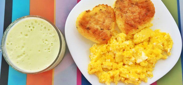 Receita: muffins de queijo com bacon