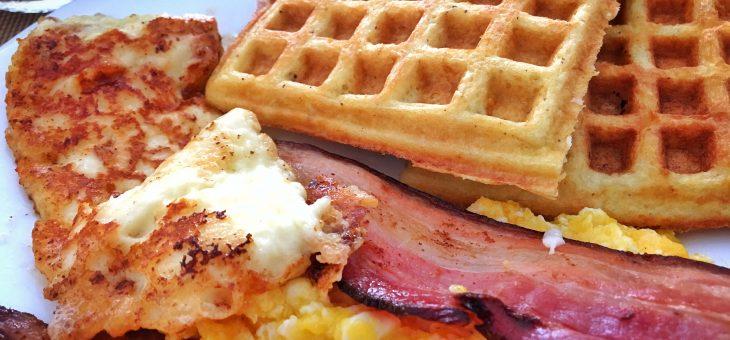 Receita de waffle de coco | Paleo