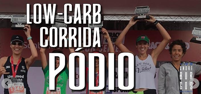 [LIVE no IG] – Low-carb, Corrida e Pódio!