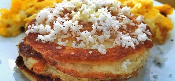 Receita de panquecas de coco low carb | Paleo