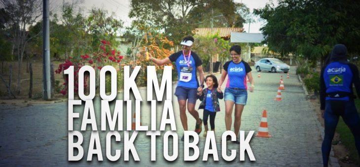 Vídeo novo no ar! 100 km do frio, família e o Back to Back